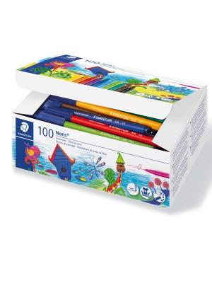Schoolpack rotuladores Staedtler Noris Club colores surtidos
