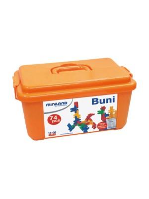Caja 74 piezas de contruccion kim buni