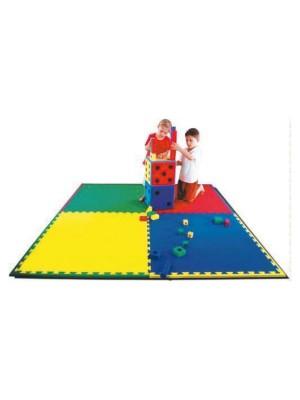 Plancha tapiz EVA azul