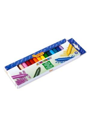 Estuche 18 ceras jovicolor colores surtidos
