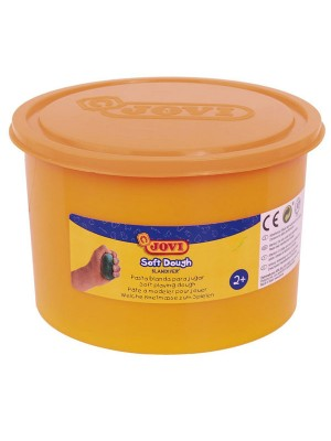 Pasta blanda para modelar Soft dough Blandiver naranja 110g.