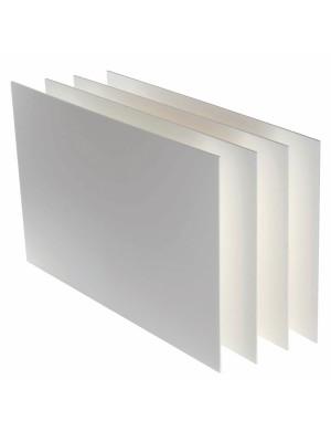 Cartón pluma poliuretano blanco Canson espesor 3mm A4