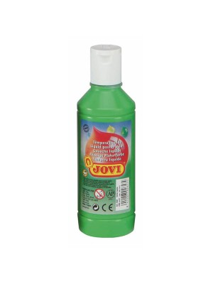 Botella tempera líquida Jovi 500ml verde claro