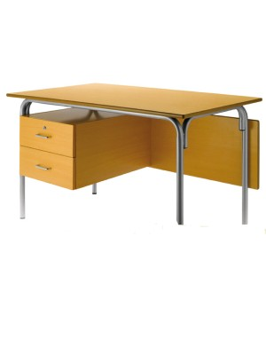 Mesa escolar haya 120x70x76 cm