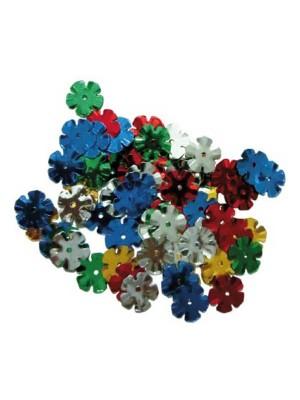 Bolsa 20g lentejuelas Fixo kids flores colores surtidos