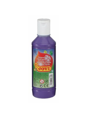 Botella tempera líquida Jovi 500ml violeta