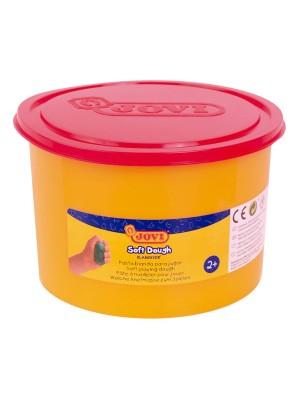 Bote de pasta blanda para modelar blandiver de 460gr rojo