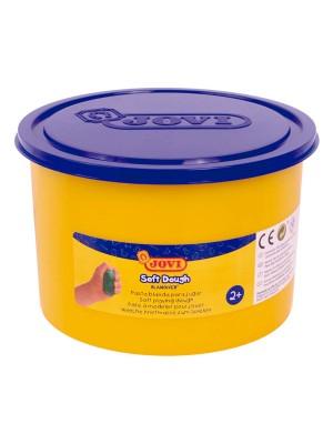 Bote de pasta blanda para modelar blandiver de 460gr azul