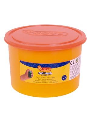 Bote de pasta blanda para modelar Soft dough Blandiver de 460g. naranja