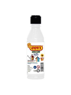 Bote tempera plastica jovidecor 250 ml blanco