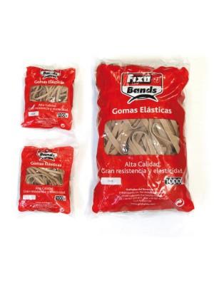 Bandas elásticas 12 cm bolsa 1 kg ancho 10 mm