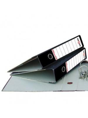 Archivador A-Z  jaspeado Dequa Lomo 75mm. Sin rado A4 Negro