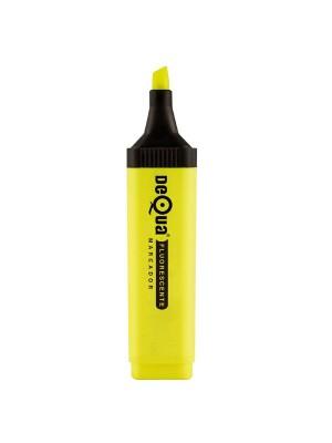 Marcador fluorescente Dequa Trazo 5,2 mm. Amarillo