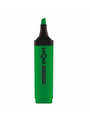 Marcador fluorescente Dequa Trazo 5,2 mm. Verde