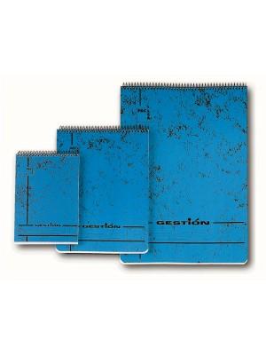 Bloc Pacsa serie Gestion tapa cartón. Espiral 80h. 60g. Cuadrícula 4x4 Folio
