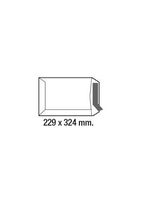 Caja 250 bolsas 100g. C4 229x324mm. Offset Blanco
