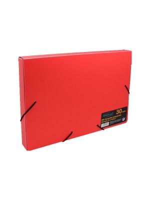 Carpeta de proyectos en polipropileno de 50 mm color rojo