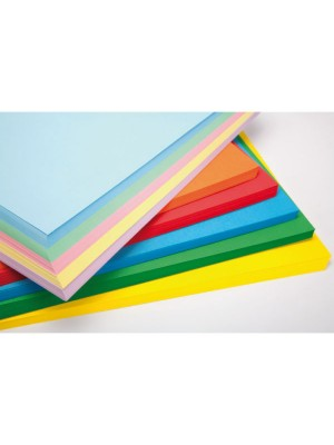 Paquete 250 h papel 80 gr 5 colores x 50 hojas din A3 colores intensos