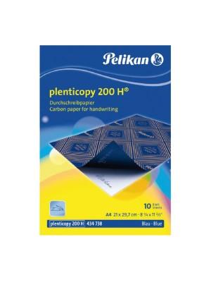 Papel carbón Pelikan Interplastic para escritura a máquina 10h. A4 Negro