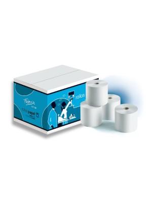 Paquete 10 rollos papel autocopiativo Fabrisa 70x65mm.
