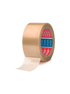 Pack 6 rollos de precinto tesapack® PVC 4120 66m x 50mm transparente
