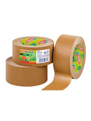 Pack 6 rollo de precinto tesapack®  ECOLOGO 50m x 50mm