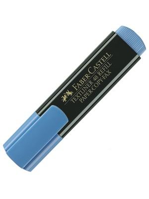 Marcador fluorescente Faber-Castell Textliner 48 Azul