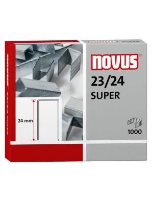Caja 1000 grapas galvanizadas Novus 23/24