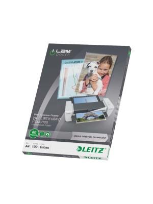 Caja 100 bolsas de plastificar Leitz