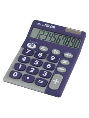 Calculadora Milan Pocket Tocuh Duo Morado