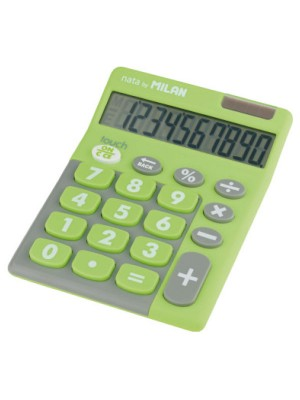 Calculadora Milan Pocket Tocuh Duo Verde
