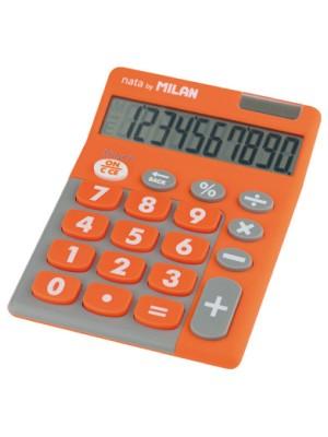 Calculadora Milan Pocket Tocuh Duo Naranja