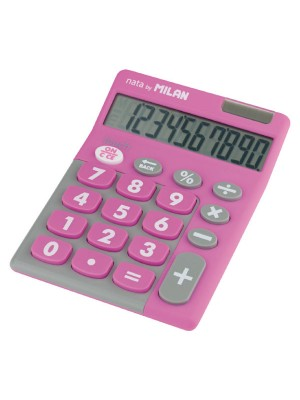 Calculadora Milan Pocket Tocuh Duo Rosa