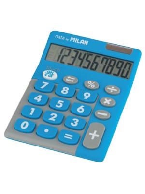 Calculadora Milan Pocket Tocuh Duo Azul
