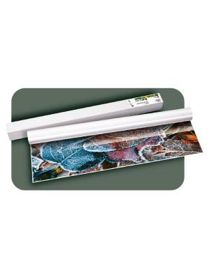 Rollo papel plotter estucado Brillo Fotográfico 140gr 91,4cmx30m