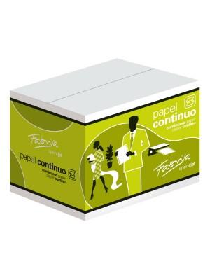 "Caja 2500h papel continuo 2 trepados 1 tanto 11""x240mm"