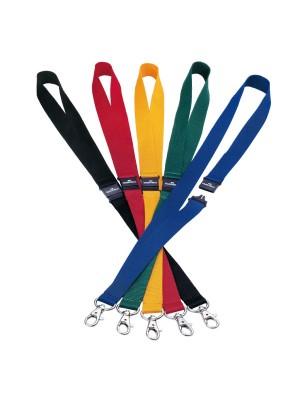 Cinta Durable para identificador portanombres. Longitud 44cm. Pack 10 cintas Azul