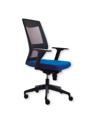 Silla de oficina Korn tapizado 1 azul