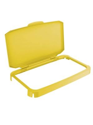 Tapa para contenedor Durabin 60l. Amarillo
