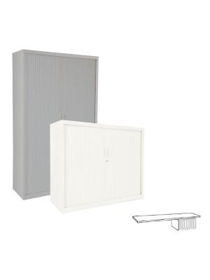Estante fijo para armario de persiana ancho 80cm