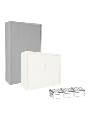 Guías telescópicas para armario de persiana ancho 60cm