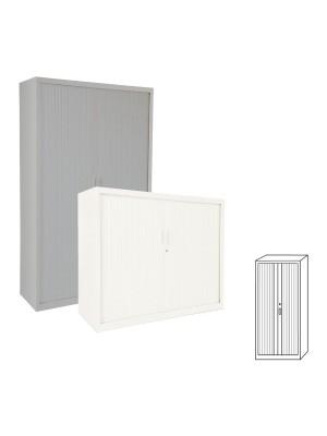 Armario Gapsa puertas de persiana. 102x220x45cm. Distintos colores a elegir