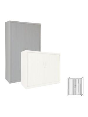 Armario Gapsa puertas de persiana. 120x145x45cm. Distintos colores a elegir