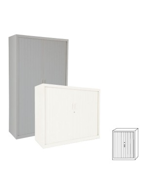 Armario Gapsa puertas de persiana. 120x145x45cm. Distintos colores de madera a elegir