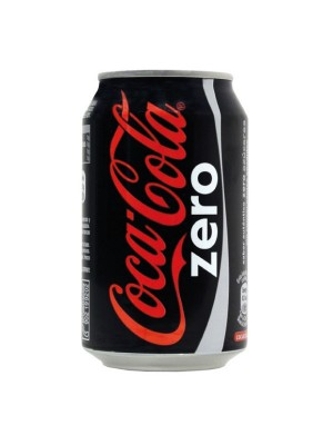 Lata Coca-Cola 330ml. Zero