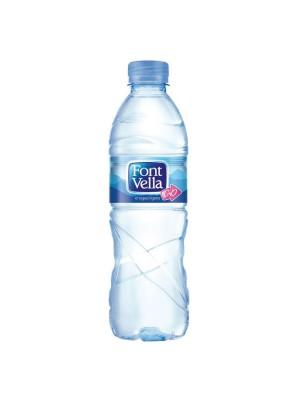 Agua mineral Font Vella 500 ml - Pack 24