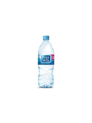 Botellas agua Font Vella 1l. Pack 15 botellas
